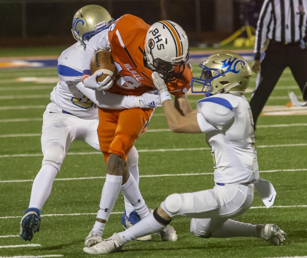Blackman advances with 24-0 win over Wilson Central