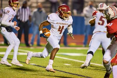 Oakland whips Riverdale 39-14 to reach state semifinals