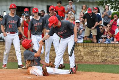 The GCA baseball team fell 6-4 to Trinity Christian on Wednesday in the TSSAA state tournament