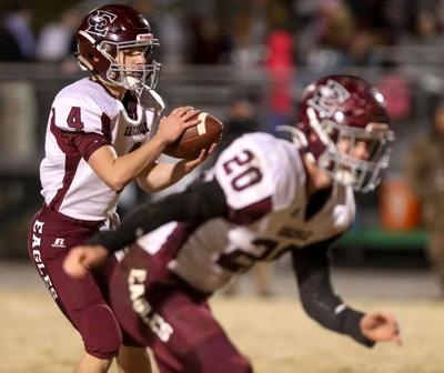 Eagleville whips Community 40-8 for second straight win