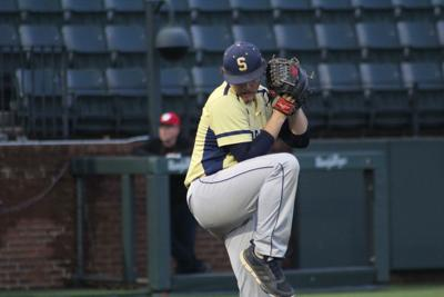 Sycamore's J.J. Ivey pitched six innings in the game against Westmoreland at Vanderbilt's Hawkins Field. CASEY PATRICK