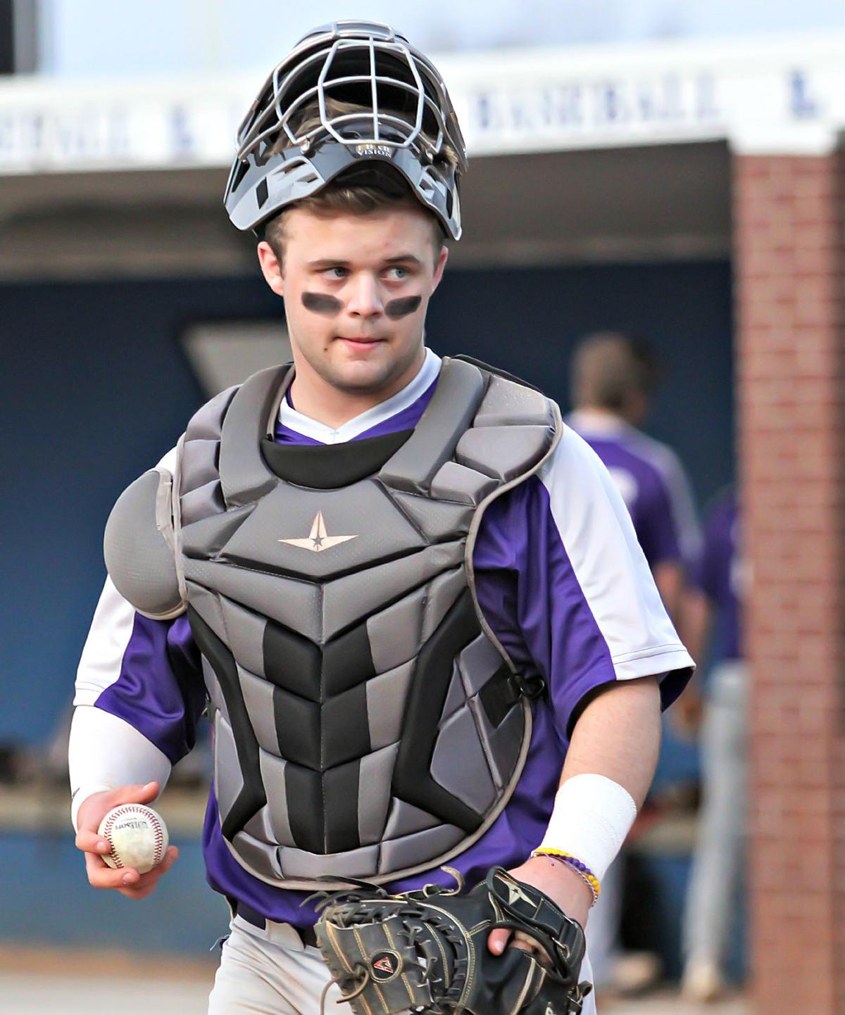 CPA catcher Knox Preston drilled a bases loaded double in the fourth inning of Thursday's 8-6 win at Lebanon in the Warrior Spring Classic. TOMMY BRYAN.jpg