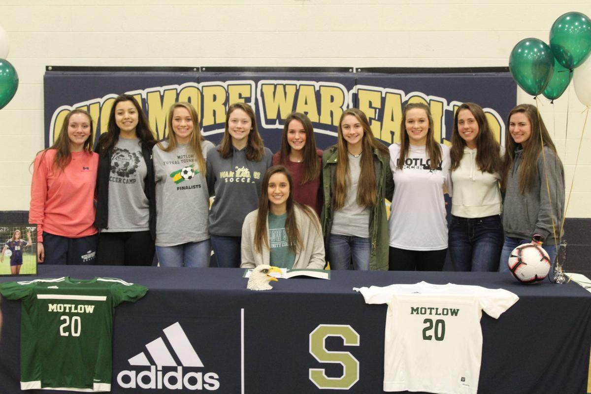 Sycamore's Wofford signs with Motlow soccer