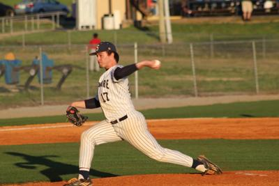 Sycamore's J.J. Ivey struck out seven batters in five innings against Harpeth. CASEY PATRICK