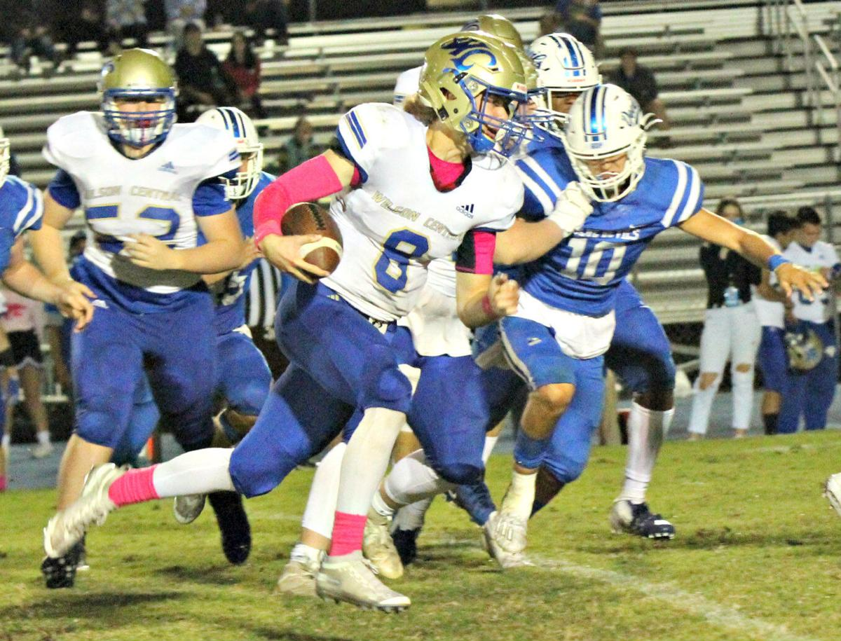 THURSDAY – Wilson Central 21, Lebanon 17