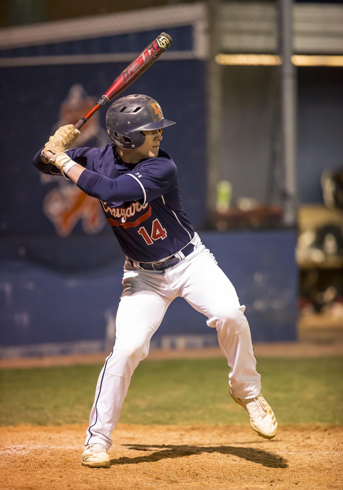 Dickson County's Tucker Berry had two RBIs in an 8-3 victory over Centennial. Howard Tuffy Abell / Mid Tenn Sports