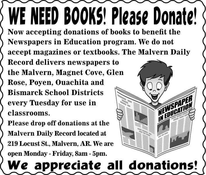 Book Donations Needed