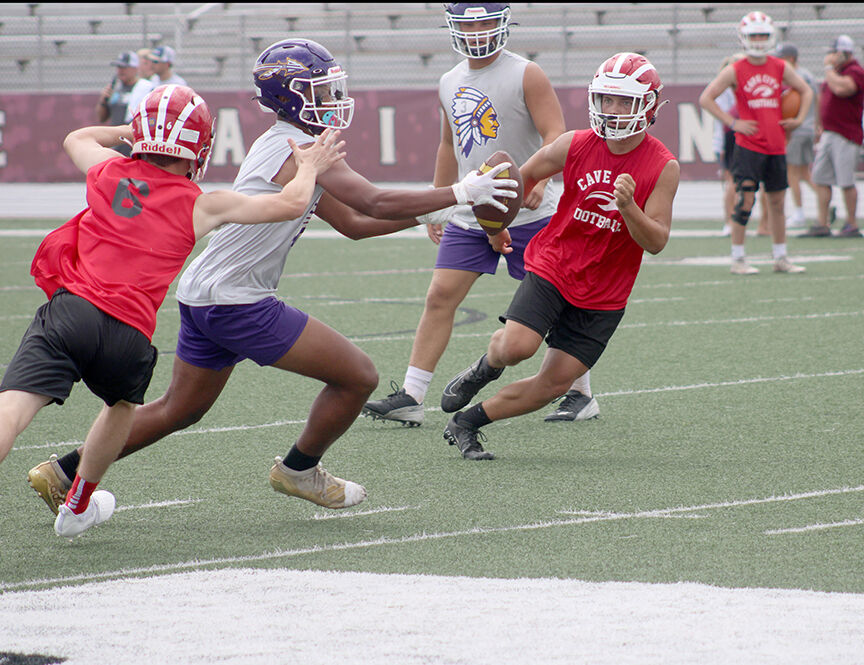 Poyen Indians Football in Live Like Bryce 7-on-7 Tourney pic.