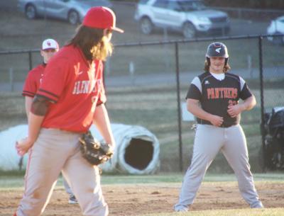 Glen Rose at Magnet Cove baseball game photo
