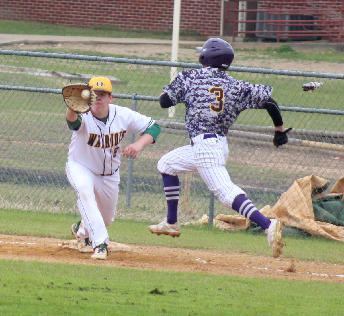 Warriors vs. Junction City baseball tourney pic.1