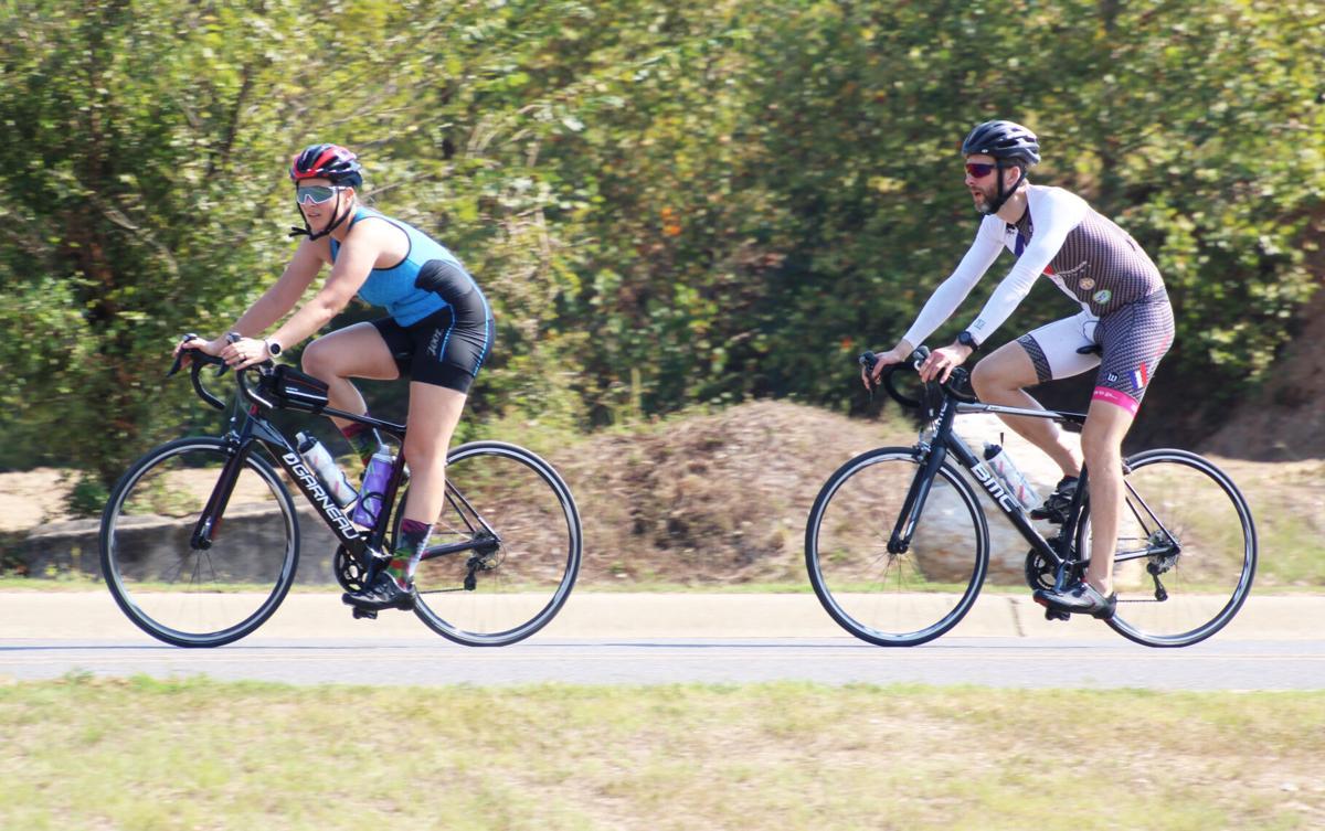 2019 Ouachita River Challenge biking picture
