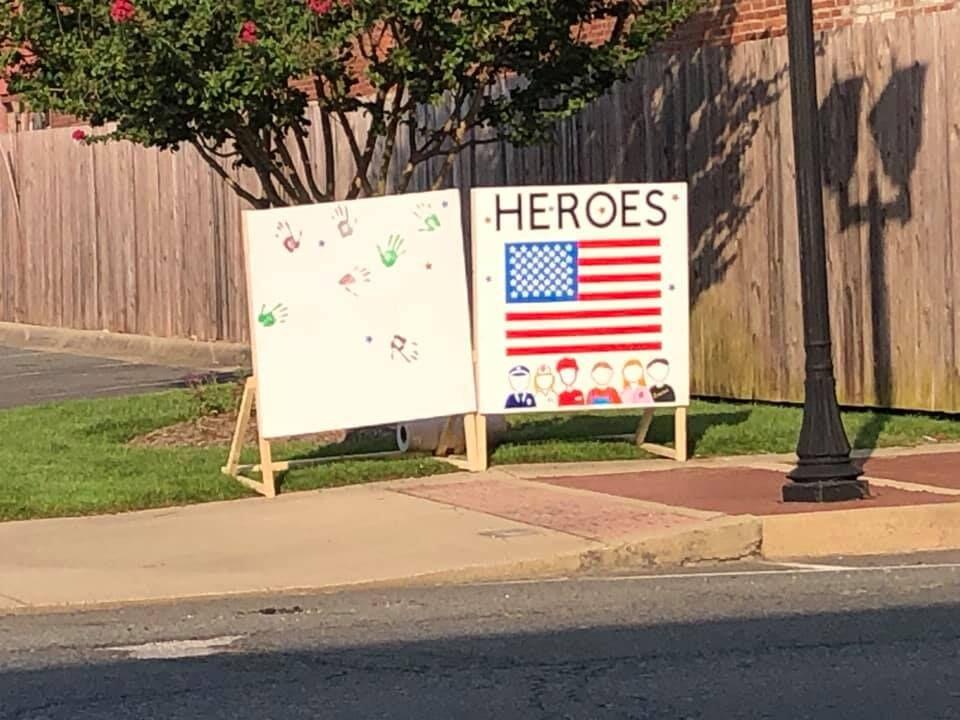 9/11 HSC mural