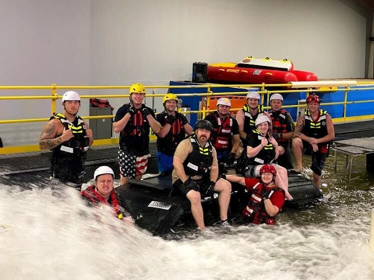 Flood Rescue Academy in Texas pic.