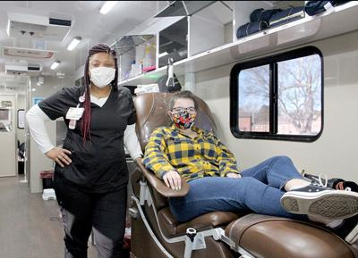 Bloodmobile donor pic.