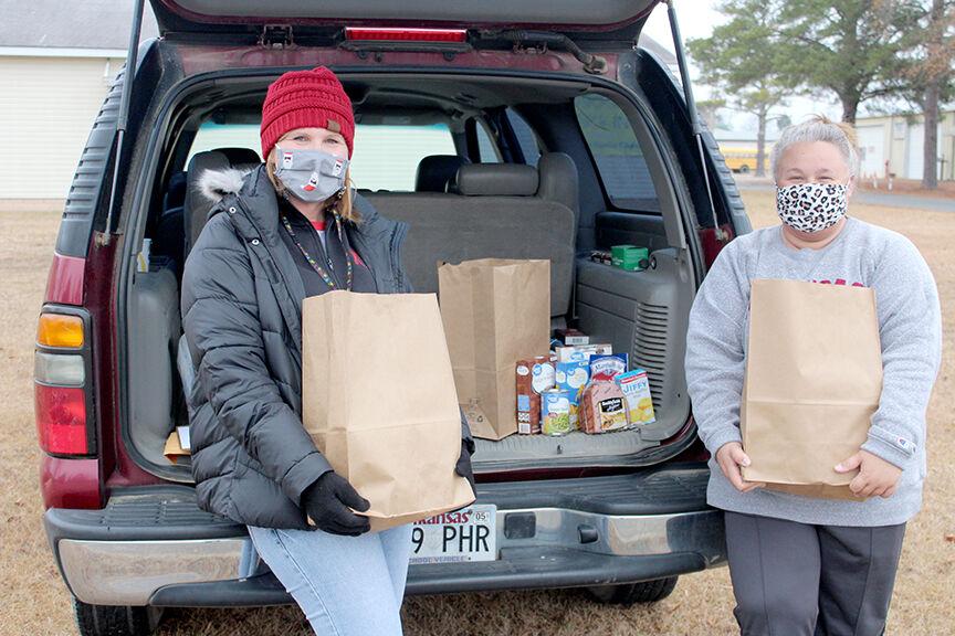 OSD Christmas food pick-up pic.1