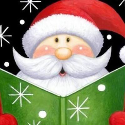 Santa at the Library logo pic.