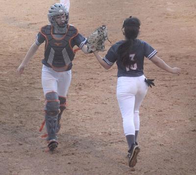 Lady Panthers softball pic.