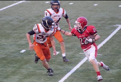Glen Rose vs. Magnet Cove Jr. High football pic.