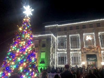 Christmas on the Courthouse square
