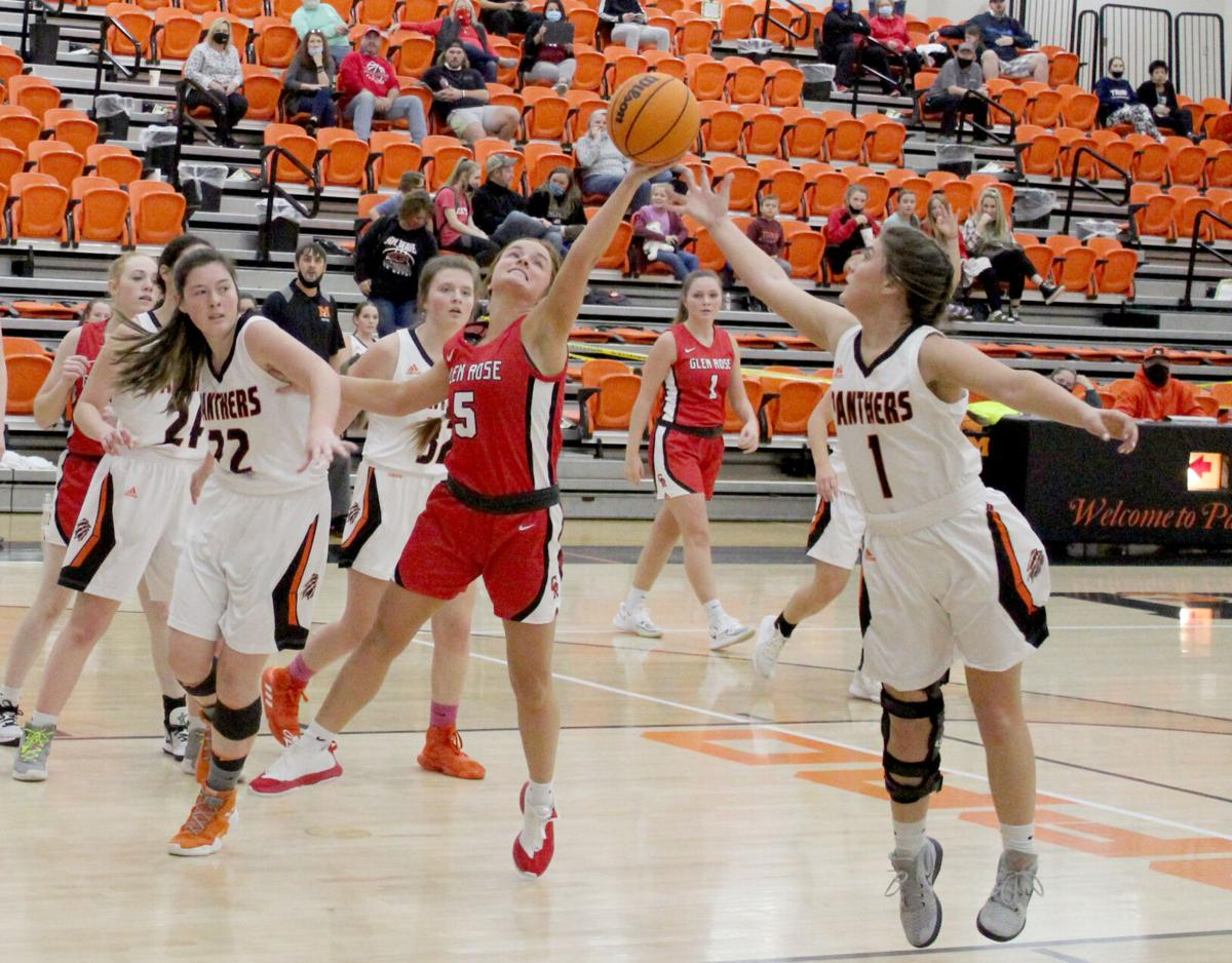 Lady Panthers vs. Lady Beavers hoops pic.3