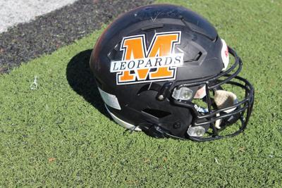 Malvern Football helmet pic.