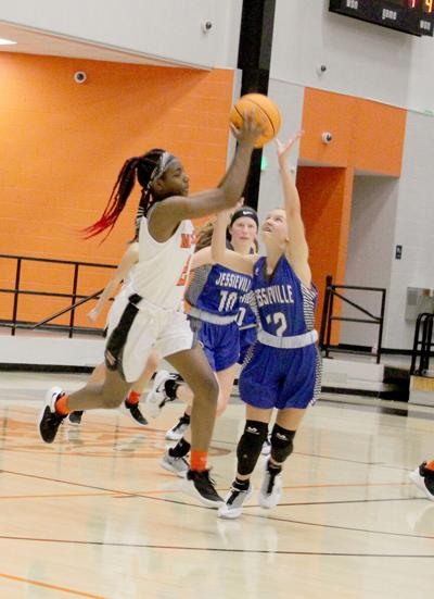 Lady Cubs vs. Jessieville hoops pic.1
