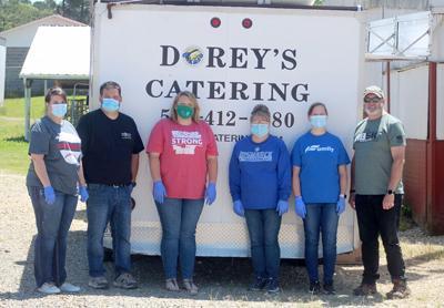 Christmas committee fundraiser volunteers pic.