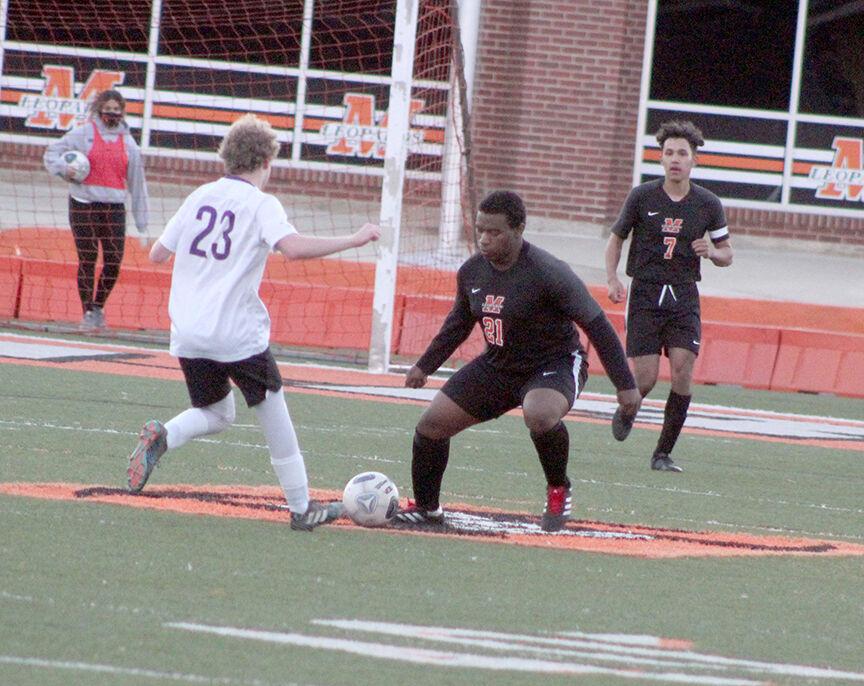 Leopards vs. CAC soccer pic.