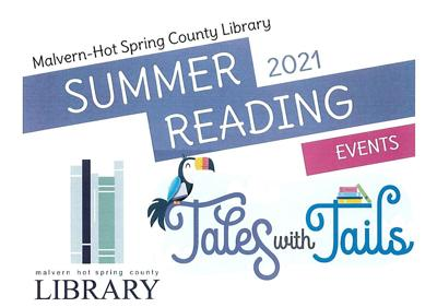 Malvern-HSC Library summer reading program events logo pic.