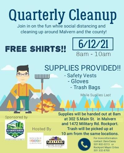 Quarterly Cleanup June 12, 2021 Flyer pic.