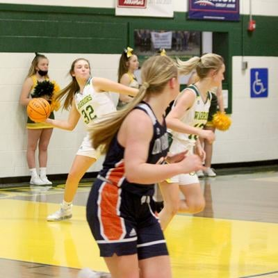 Lady Warriors vs. Trinity Christian hoops pic.1