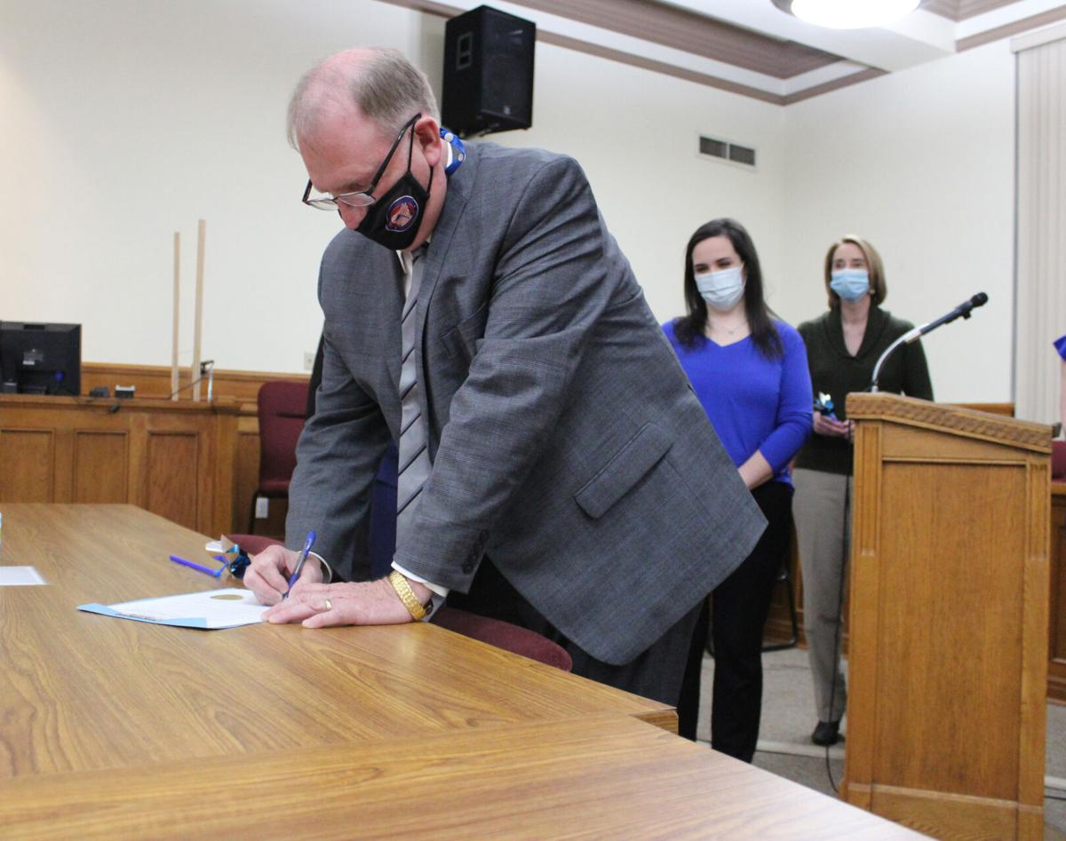Child Abuse Awareness and Prevention Month proclamation pic.2