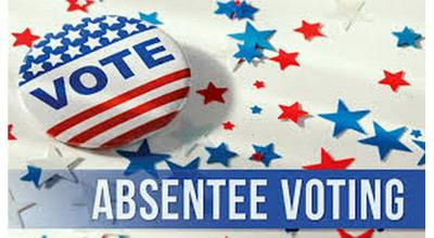 Absentee voting logo pic.