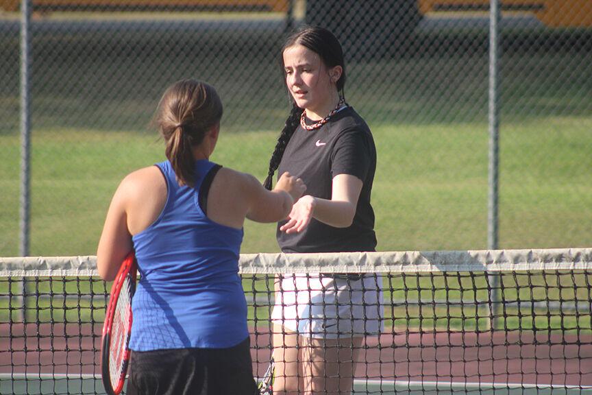 Malvern tennis vs. Sheridan