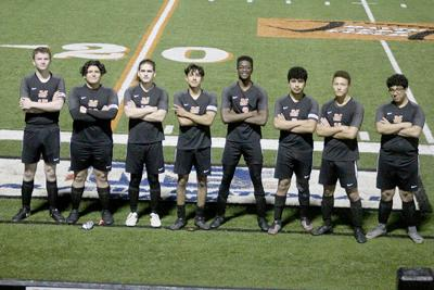 Leopards senior soccer players pic.