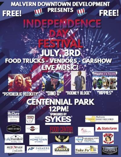 Independence Day Festival flyer pic.