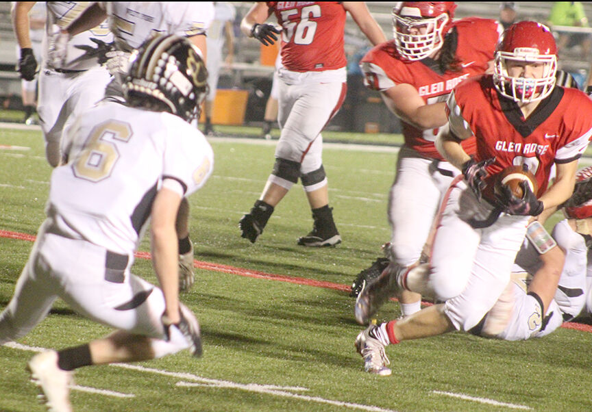 Glen Rose vs. West Fork playoff football pic.1