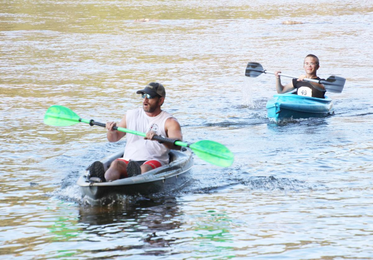 2019 Ouachita River Challenge kayaking picture