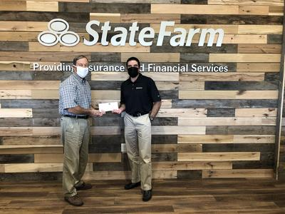 State Farm Insurance donation pic.