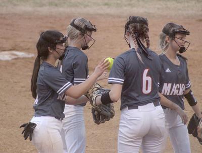 Lady Panthers vs. Mt. Pine softball pic.1