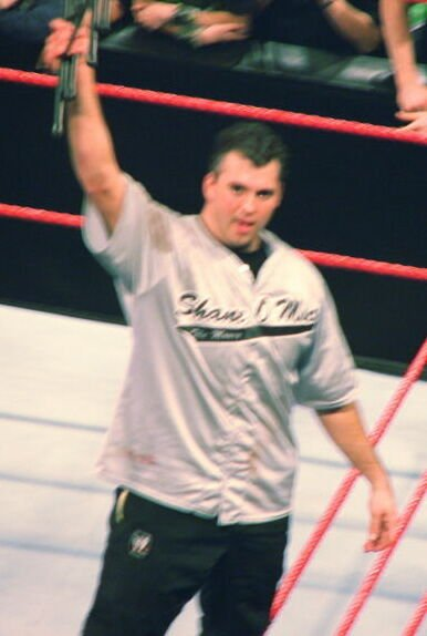 Shane McMahon in the ring