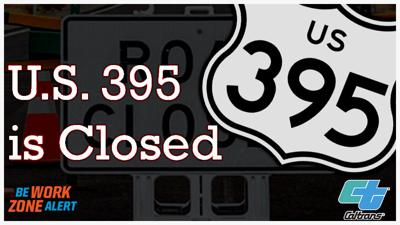 U.S. 395 is Now Closed at Monitor Pass/S.R 88 Junction