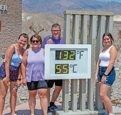 Death Valley hits 130 degrees; if confirmed, hottest temp on Earth