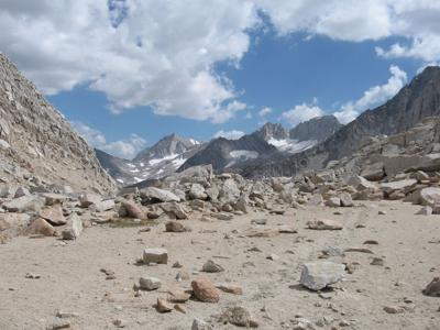 Mono Pass photo; Top of the World