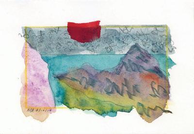 Ellenbogen Gallery hosts watercolors