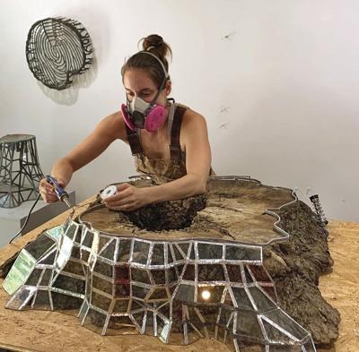 Sculptor explores humans, nature