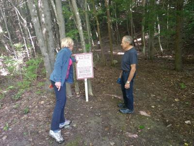 Robin Verner and Amy Verner Rail Trail