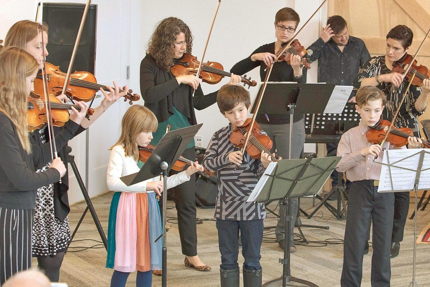 Taconic Music offers violin concert, strings for kids