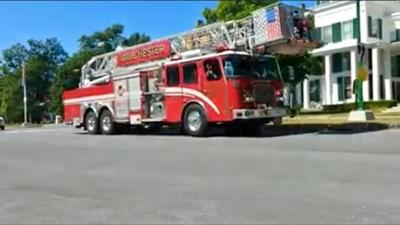 Manchester Fire Department truck