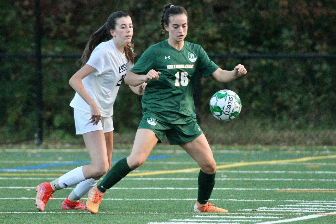 BBA Girls Soccer versus Essex 10/11